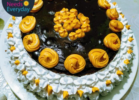 Chocolate cake cream cheese