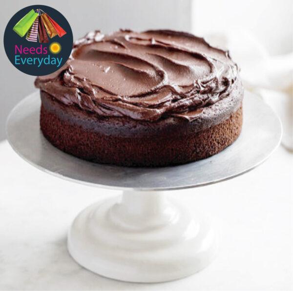 Moist chocolate cake with chocolate bar