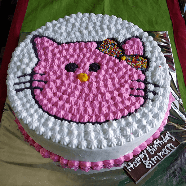 Hello Kitty Cake In Meherpur